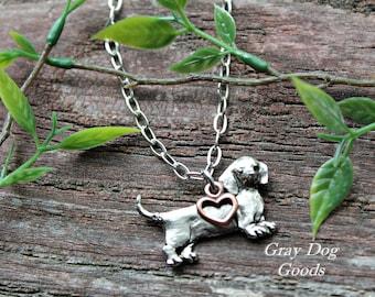 Dachshund Necklace, Dachshund Jewelry