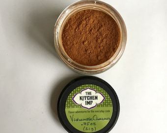Vietnamese Cinnamon - Organic - .75, 1.5, or 3 oz