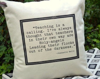 Personalized pillow, Teachers gift, appreciation gift, Teacher Pillow, student gift, classroom, teacher appreciation- personalized pillow