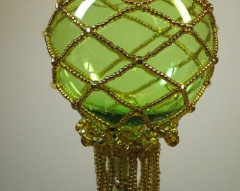076. Beaded Ornament Cover