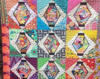 Magic Lanterns quilt pattern