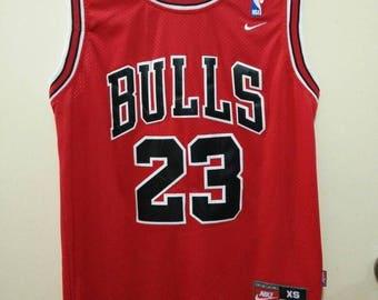 Vintage Jordan Chicago Bulls Basketball Jersey by Nike 23