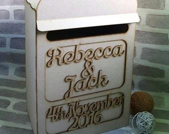 Wedding Post Box, Mail Box, Mailbox, Wedding Postbox, Wedding Card Box, Wedding Card Mailbox, English Post Box, Wedding Card post box