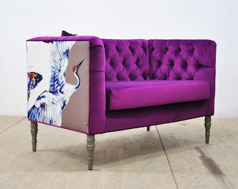 Loveseat - purple dream
