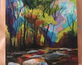 Pastel Riverbed