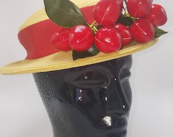 Cheery Cherry Sun Hat