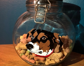 Custom Pet Treat Jar