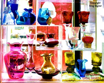 "Sunshine Through the Window, Fine Art Print Available in 5x7"", 8x10"", 11x14"", 13X19"""