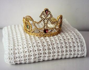 Download Now - CROCHET PATTERN Royal Child Blanket - Any Size - Pattern PDF