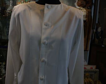 White blouse size 38 GIVENCHY