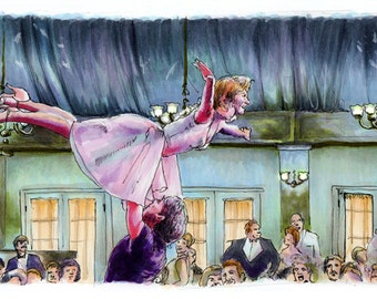 Dirty Dancing - Time of my Life Print