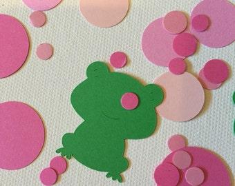 Princess Party Confetti, Princess and Frog Confetti, Pink Party, Princess Party Confetti, Frog Confetti, Girl Party, Princess Confetti