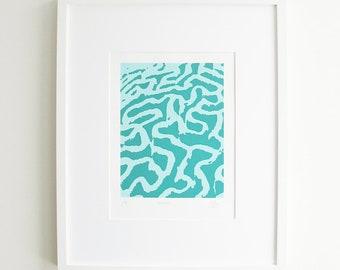 Coral Silkscreen Print