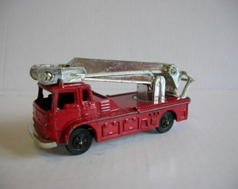 Toy Truck - Vintage Corgi Juniors 36a Simon Snorkel Fire Engine