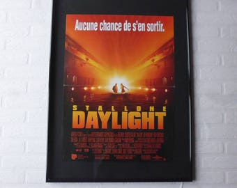 1996 Daylight Sylvester Stallone original movie poster