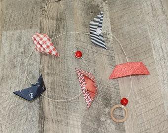 Garland origami boats