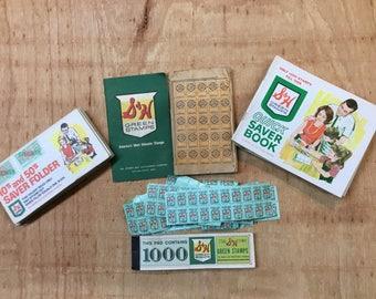 Vintage S&H Green Stamps Lot