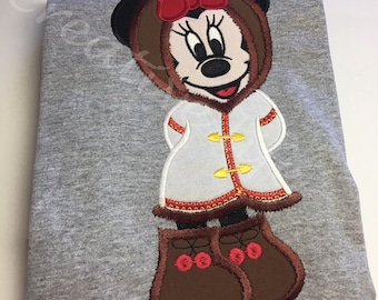 Alaska Minnie shirt - Youth, Disney wonder cruise