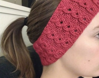 Vortex Cable Headband Earwarmer - Pattern