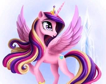 Rainbow Unicorn Diamond painting