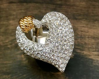 Napkin Ring with Heart