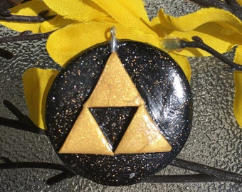 Legend of Zelda Triforce Pendant