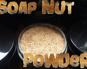 Soap Nut Powder made from  100% Organic Soap Berries