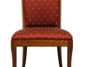 ETHAN ALLEN Medallion Collection Upholstered Side Chair 25-6440