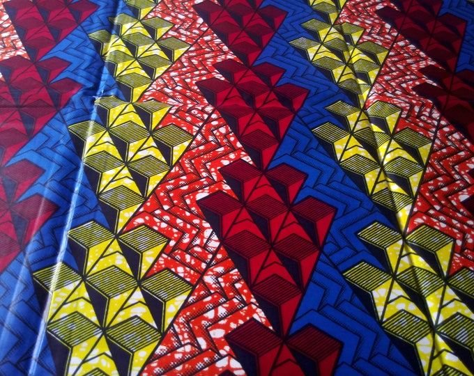 1 YARD Traditional African Print  Fabrics For Craft Making Dresses Shirts Ties /Sewing Fabric /Kitenge Pagnes Chitenge