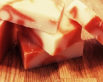 Summer Citrus Cold Process Soap Bar; Joy, Happiness