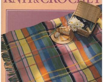 Crochet Pattern, Knit Pattern, Crochet Afghan Pattern, Knit Afghan pattern