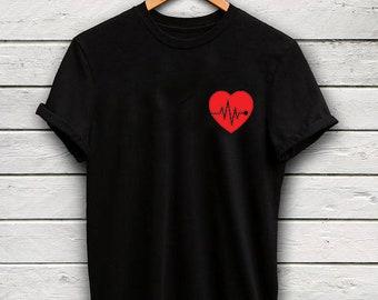 buffalo plaid shirt - valentines day shirt - buffalo plaid heart shirt - heart shirt - valentines day gift - gift for her - womens shirt