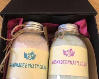 Gift Set / Bath Milk / Bath Salt