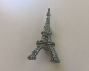 Eiffel Tower Paris France theme lapel pin collectible