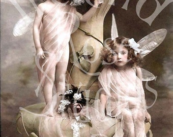 Fairy Girls-Digital Image Download