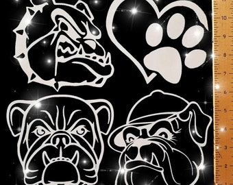 Custom vinyl decals for your vehicle, locker, helmet, etc. Many more mascots, designs, and colors available.