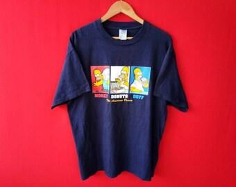 vintage simpson cartoon comic men t shirt