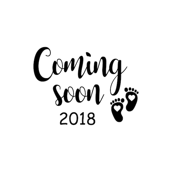 baby coming soon images  Coming Soon SVG Birth Announcement Svg Baby Footprint Svg
