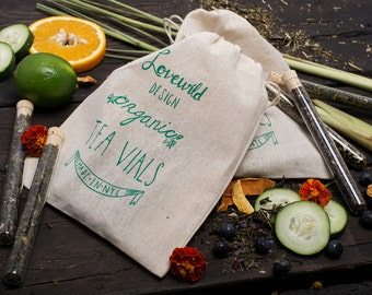 Green Tea Vial Gift Set