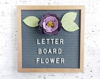 Large Ombre Flower for your Letter Board  - Add-ons for Felt Letter Boards - Decor for Photo Props, Parties, Showers, Weddings and Every Day
