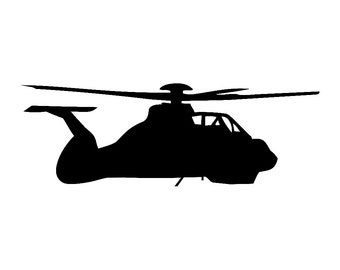 Comanche Helicopter Vinyl Decal