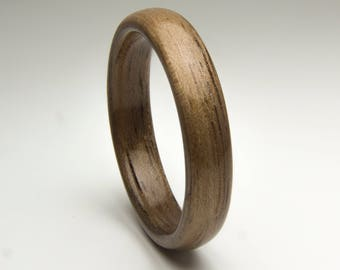 Bentwood Ring  Handcrafted In Walnut wood