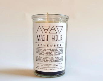 Remember Handmade Ritual Candle - Small