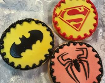Super Hero - Sugar Cookies
