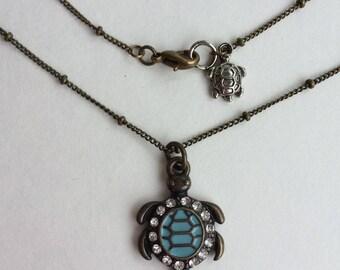 Honu Honey ~ Turtle Necklace