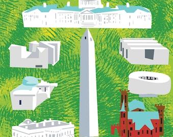 Washington DC Mall and Monuments
