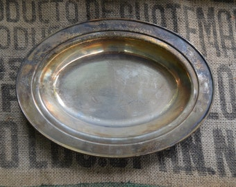 Paul Revere Reproduction Silverplated Bread Bowl