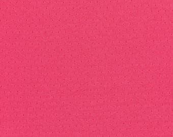 Plain FRANCE DUVAL-STALLA Peony pink Jersey fabric