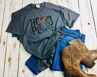 Heifer Please Cow Shirt // Short Sleeve Tshirt // Cow T // Mom Shirt // Bandana Tee
