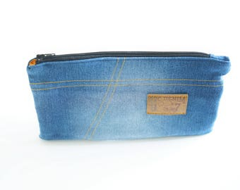 Great denim recycled, lined School Kit